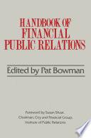 Handbook of Financial Public Relations