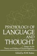 Psychology of Language and Thought [Pdf/ePub] eBook
