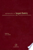 Advances in Inorganic Chemistry Book