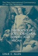 Pdf The Books of Joel, Obadiah, Jonah, and Micah