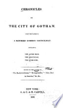 Chronicles Of The City Of Gotham