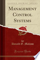 Management Control Systems (Classic Reprint)