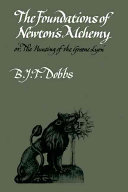 The Foundations of Newton's Alchemy