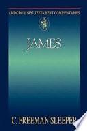 Abingdon New Testament Commentaries James