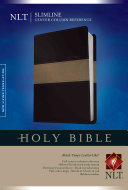 Slimline Center Column Reference Bible NLT
