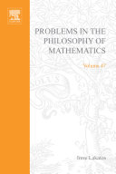 Problems in the Philosophy of Mathematics [Pdf/ePub] eBook