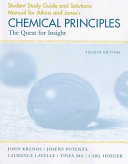Chemical Principles Study Guide/Solutions Manual
