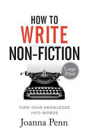 How To Write Non-Fiction Large Print