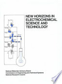 New Horizons In Electrochemical Science And Technology Book PDF