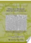 Diffusion in Advanced Materials and Processing
