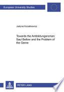 Towards the Antibildungsroman