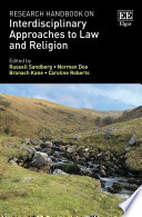 Research Handbook on Interdisciplinary Approaches to Law and Religion