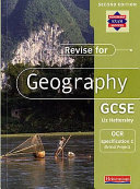 Revise for Geography GCSE OCR Specification C (Bristol Project)