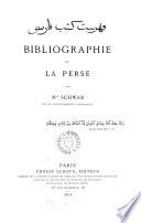 Bibliographie de la Perse