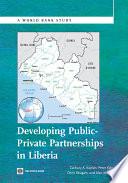 Developing Public Private Partnerships In Liberia
