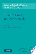 Number Theory And Polynomials