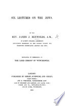 Six Lectures on the Jews