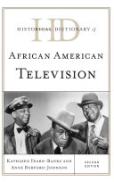 Historical Dictionary of African American Television ebook