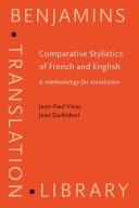 Pdf Comparative Stylistics of French and English Telecharger