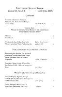 Portuguese Studies Review