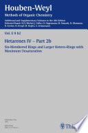 Houben Weyl Methods of Organic Chemistry Vol  E 9b 2  4th Edition Supplement
