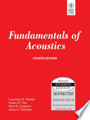 FUNDAMENTALS OF ACOUSTICS, 4TH ED
