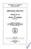 Simplified Practice  what it is and what it Offers Book