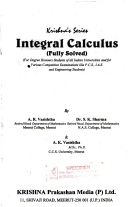 Krishna's Series: Integral Calculus (Fully Solved)
