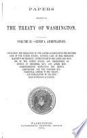 Papers Relating To The Treaty Of Washington Geneva Arbitration