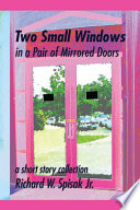 Two Small Windows in a Pair of Mirrored Doors