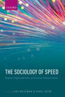 The Sociology of Speed Pdf/ePub eBook