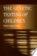 The Genetic Testing of Children