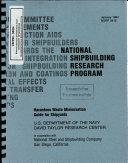 Hazardous Waste Minimization Guide for Shipyards