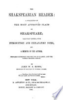 The Shakespearian Reader Book