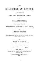The Shakespearian Reader