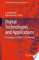 Digital Technologies and Applications