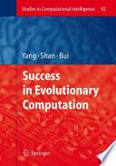 Success in Evolutionary Computation Book