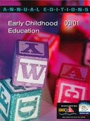Early Childhood Education 2000 2001