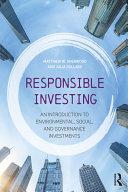 Responsible Investing Pdf/ePub eBook