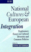 National Cultures and European Integration