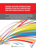 Human Nature Interactions  Perspectives on Conceptual and Methodological Issues Book