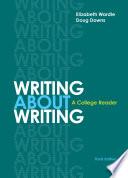 Writing about Writing