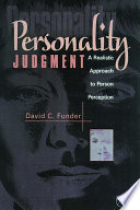 Personality Judgment Book