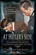 At Hitler's Side [Pdf/ePub] eBook