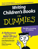 Writing Children's Books For Dummies Pdf