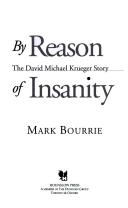 by reason of insanity the david michael krueger story