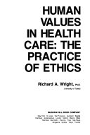 Human Values In Health Care