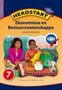 Books - Headstart Ekonomiese & Bestuurswetenskappe Graad 7 Leerdersboek   ISBN 9780195998863