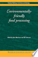 Environmentally Friendly Food Processing Book