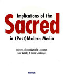 Implications of the Sacred in  post modern Media Book